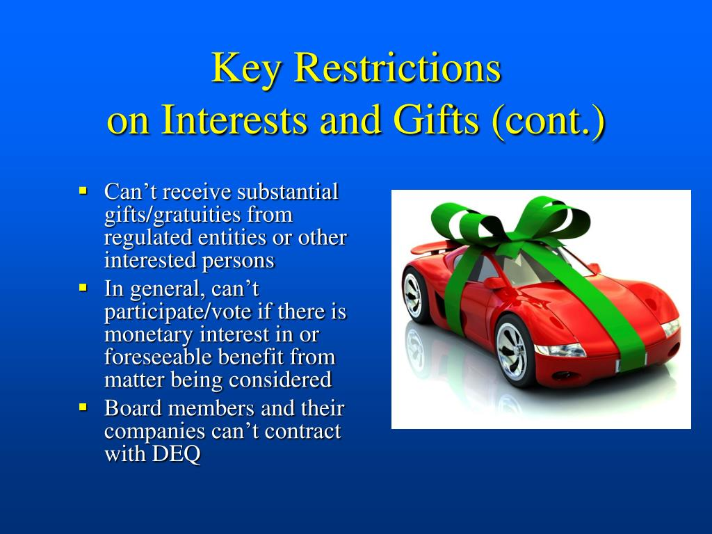 Key Restrictions