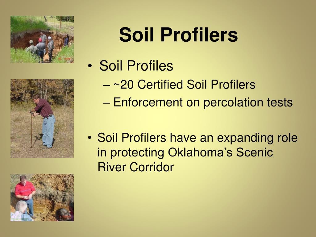 Soil Profilers