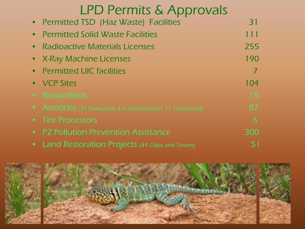 LPD Permits & Approvals