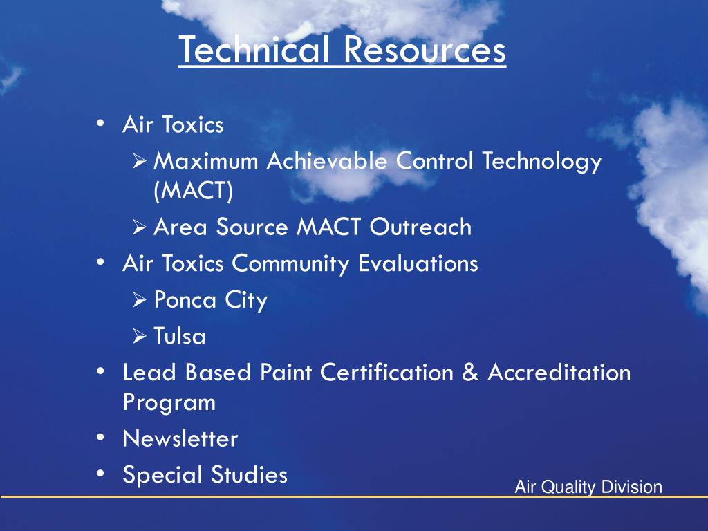 Technical Resources