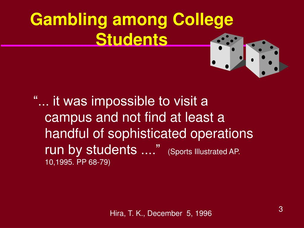 Gambling among College Students