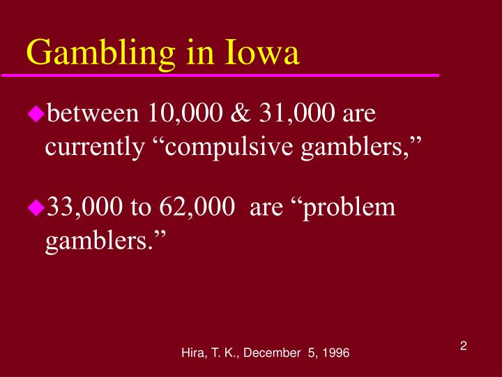 Gambling in iowa