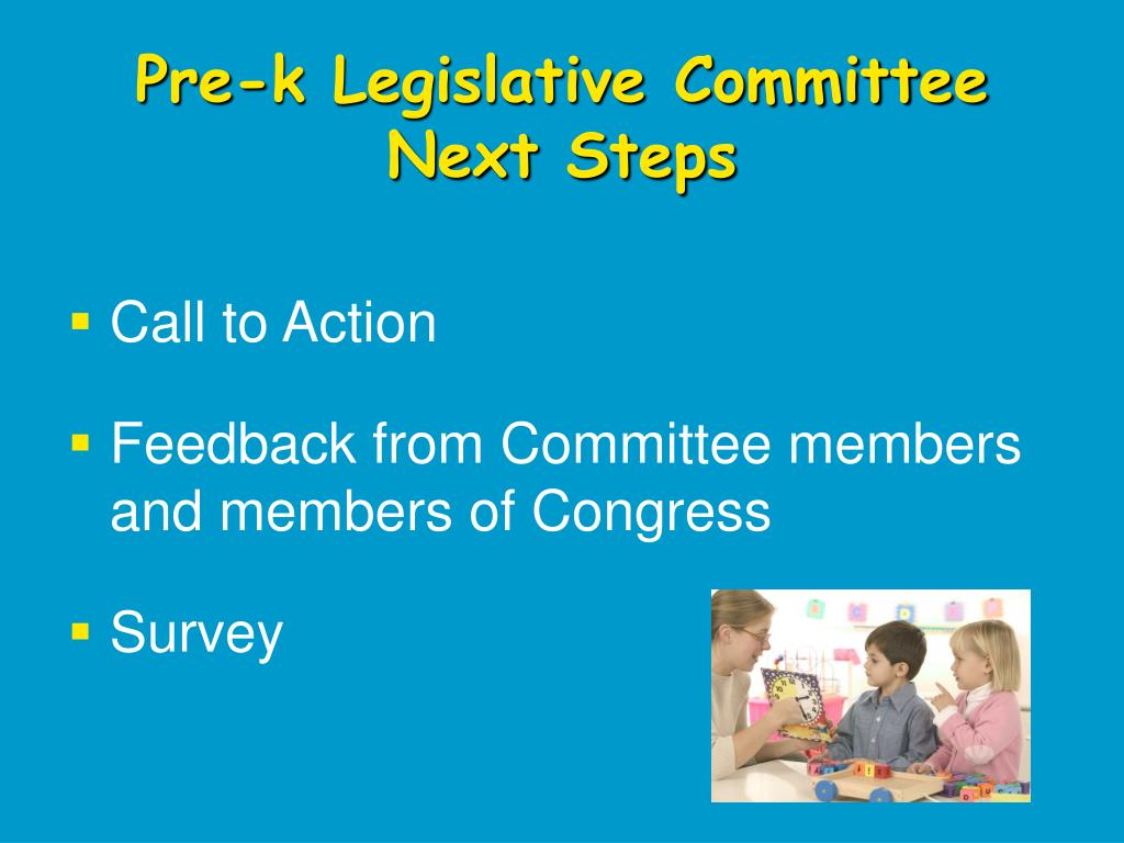 Pre-k Legislative Committee