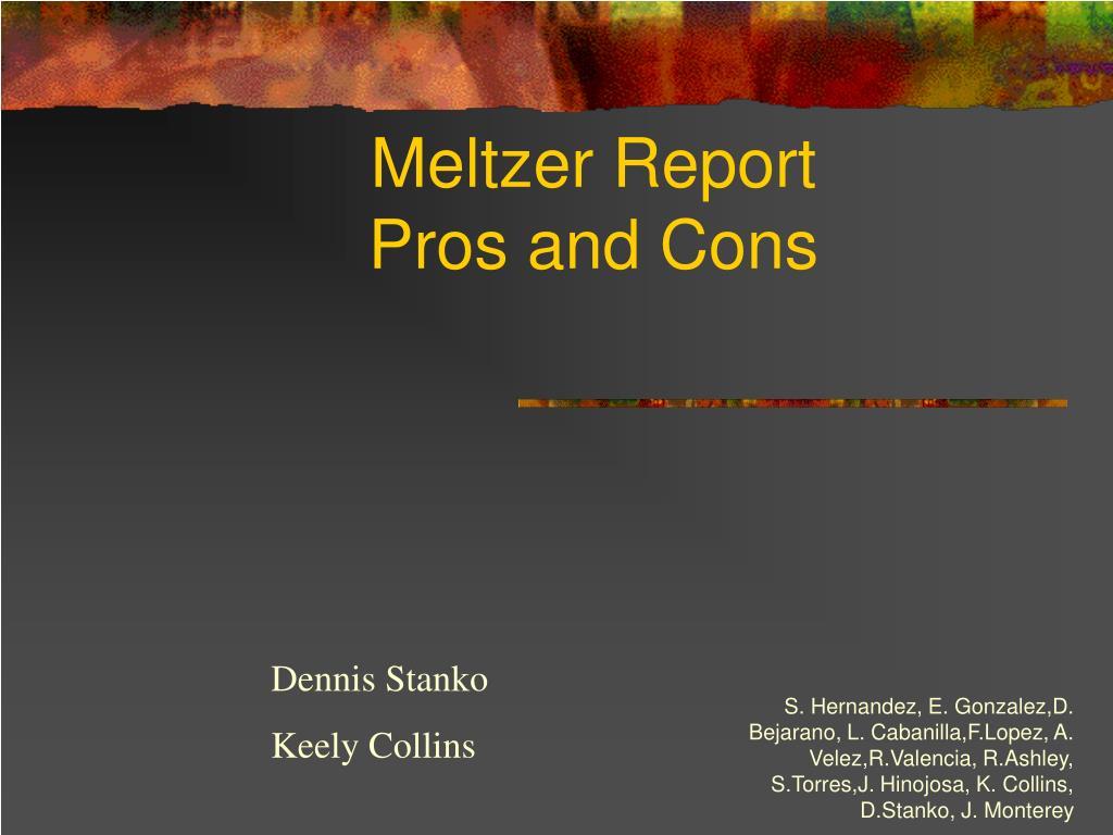 Meltzer Report