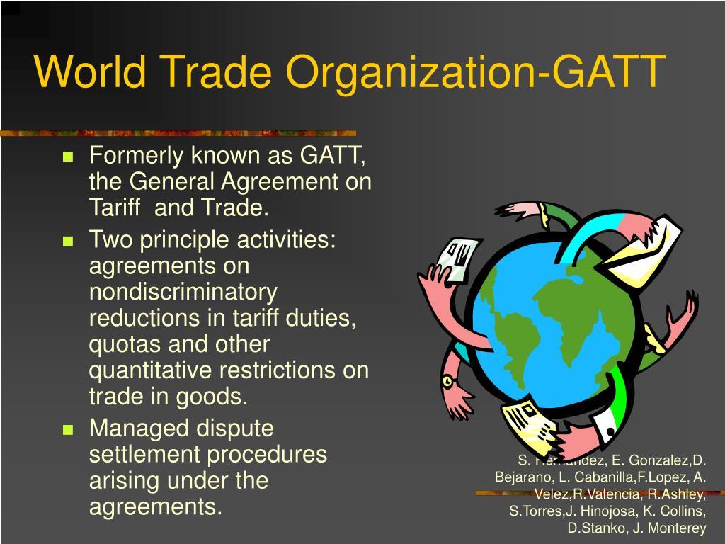 World Trade Organization-GATT