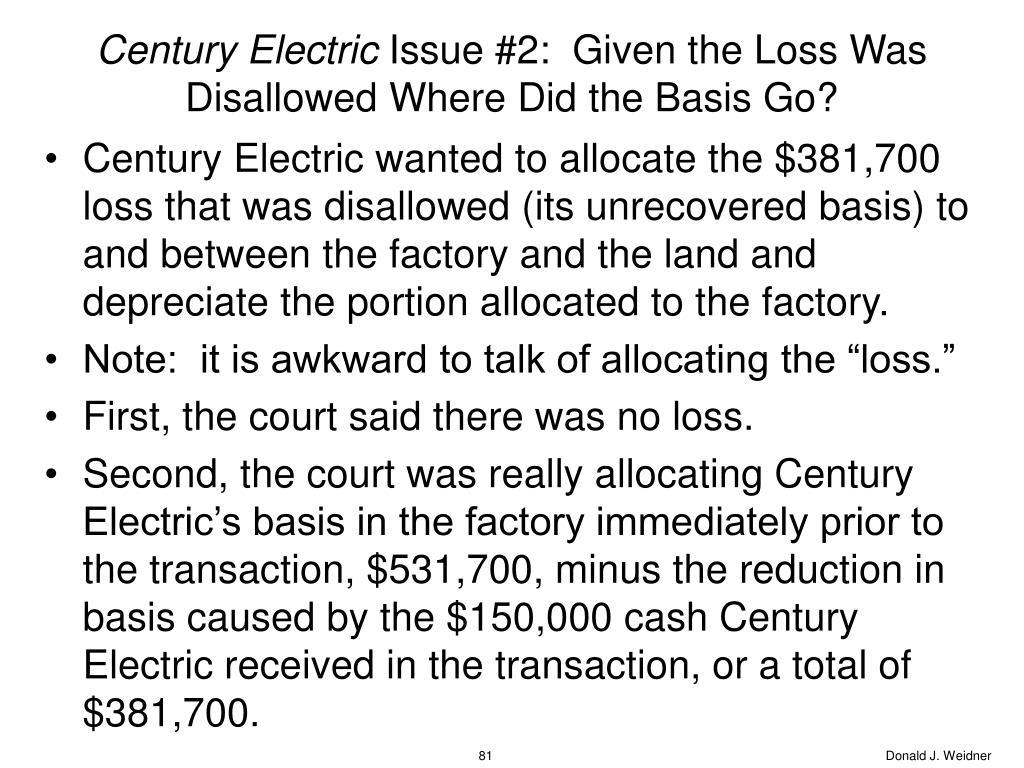 Century Electric