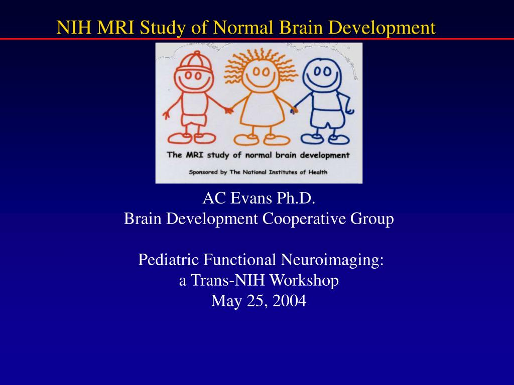 NIH MRI Study of Normal Brain Development