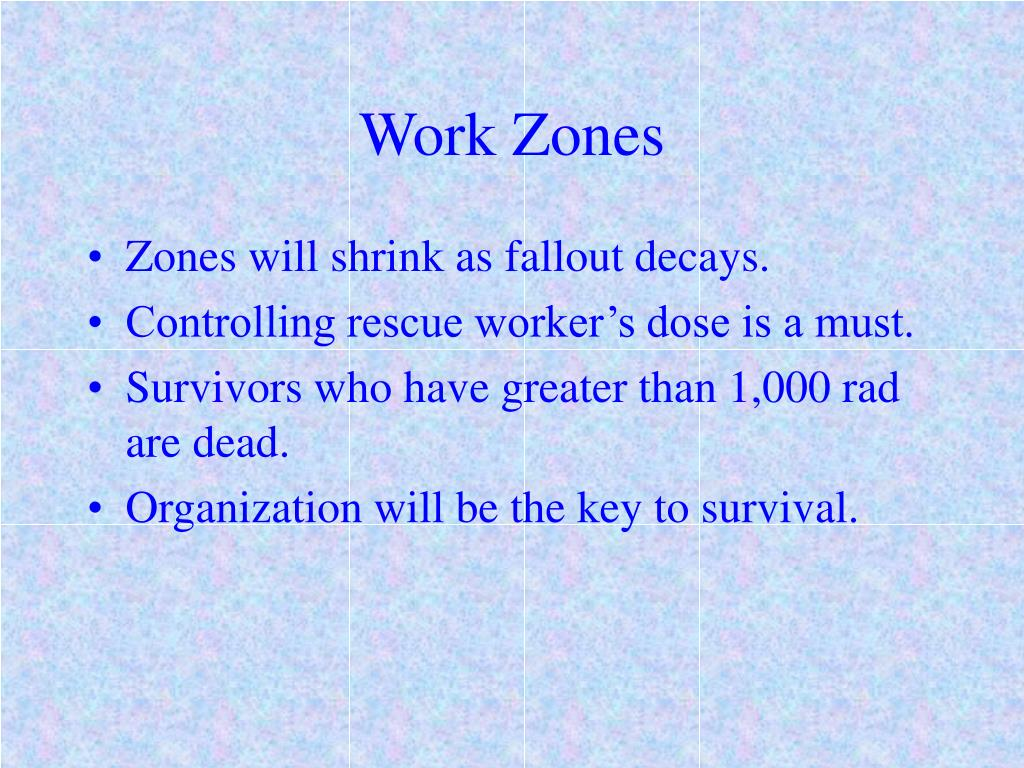 Work Zones