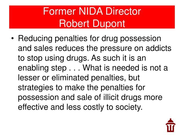 Former NIDA Director