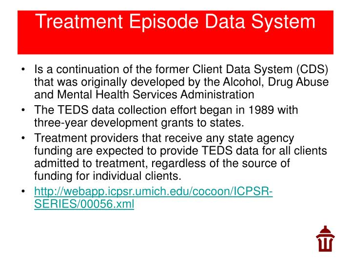 Treatment Episode Data System