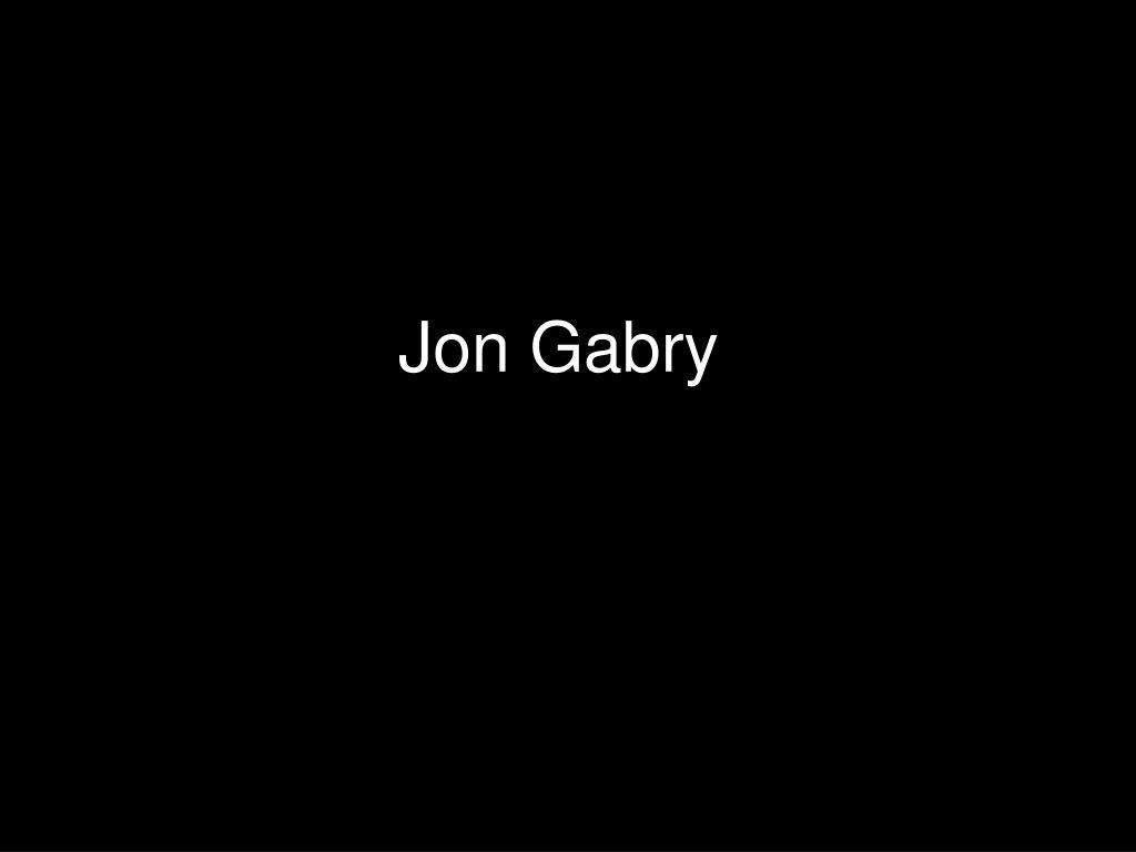 Jon Gabry