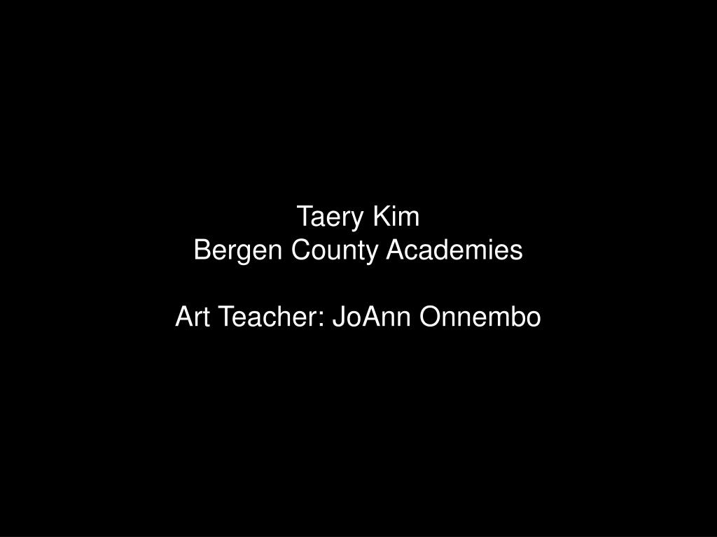 Taery Kim