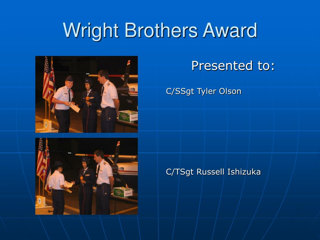 Wright Brothers Award