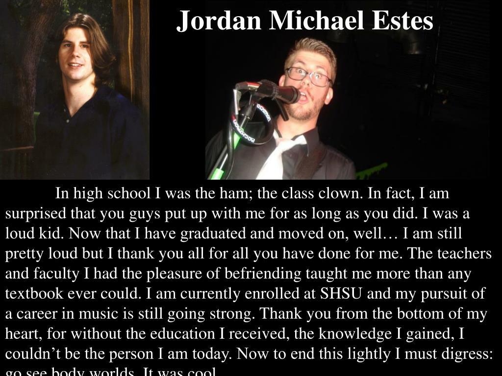 Jordan Michael Estes