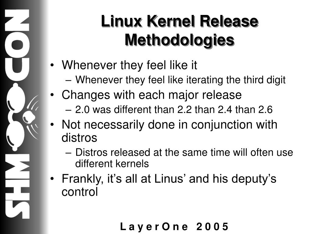Linux Kernel Release Methodologies