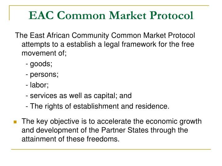 EAC Common Market Protocol