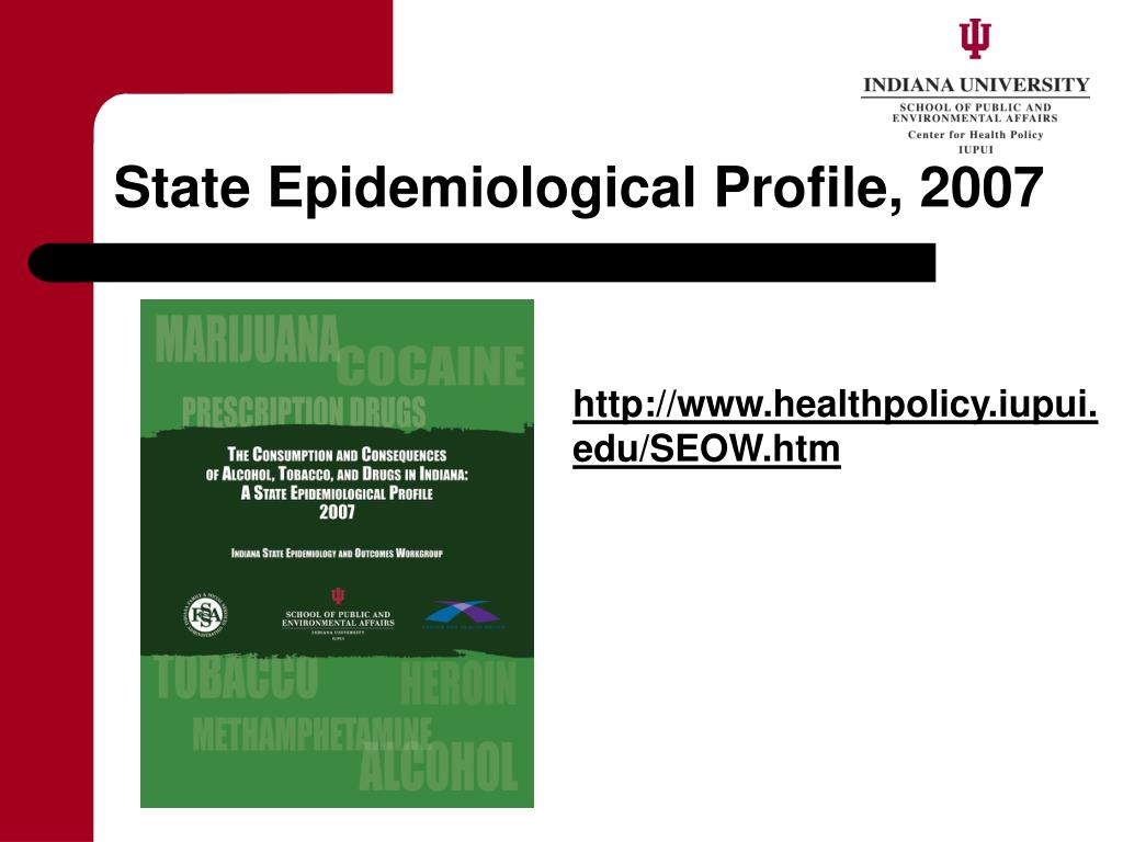 State Epidemiological Profile, 2007