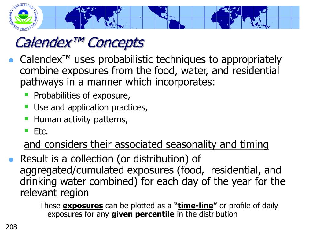 Calendex™ Concepts