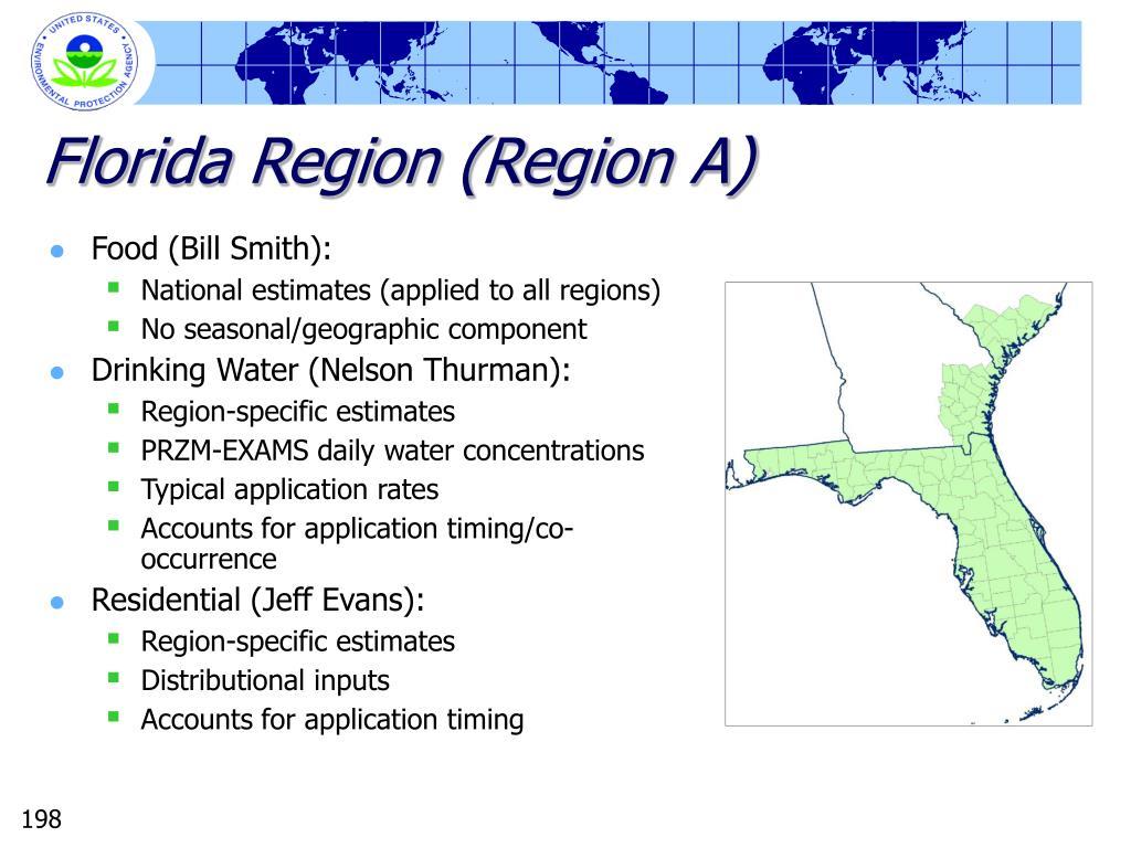 Florida Region (Region A)