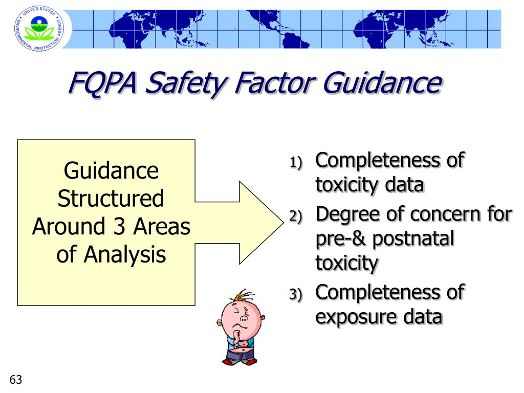 FQPA Safety Factor Guidance