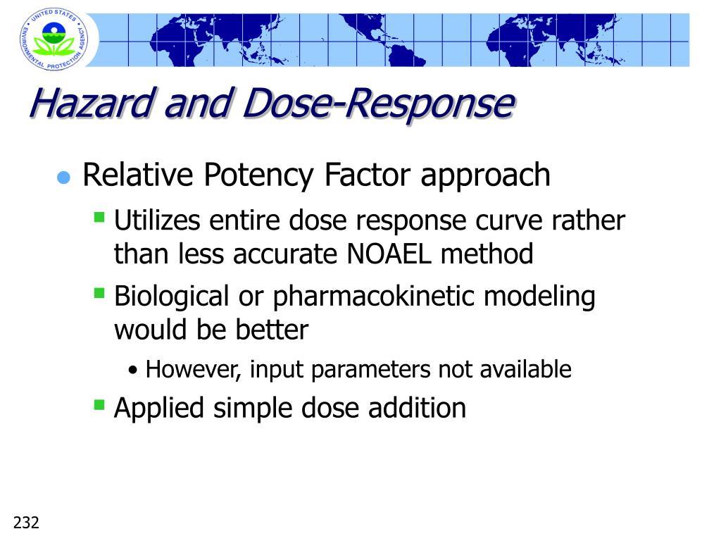 Hazard and Dose-Response
