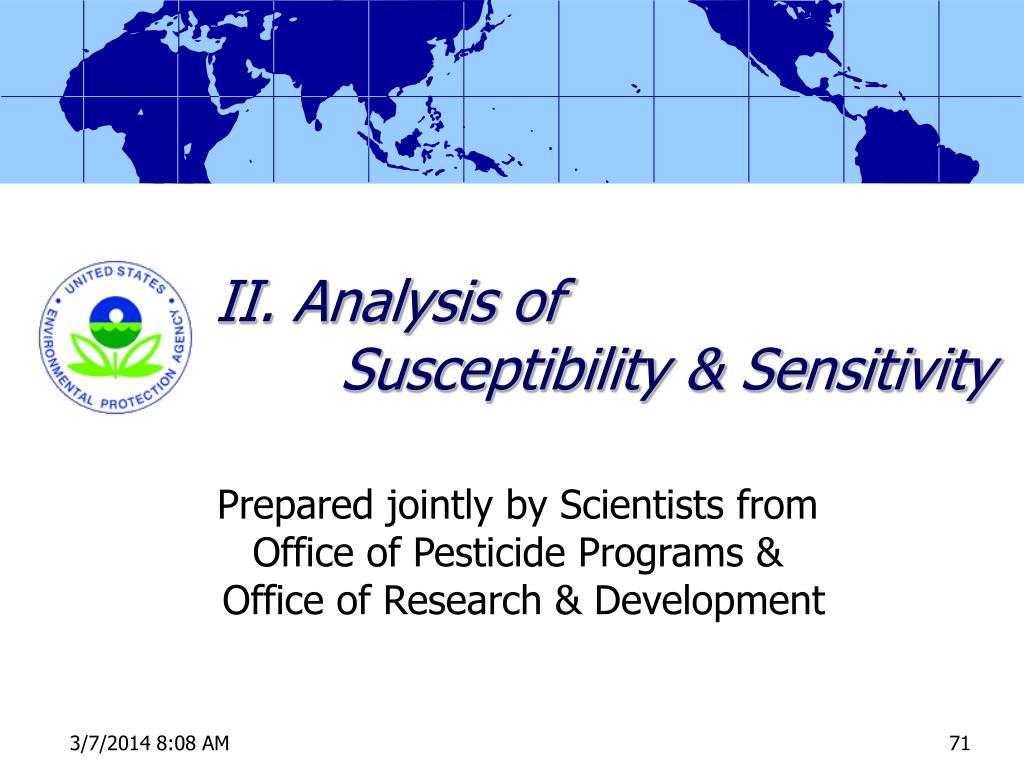 II. Analysis of