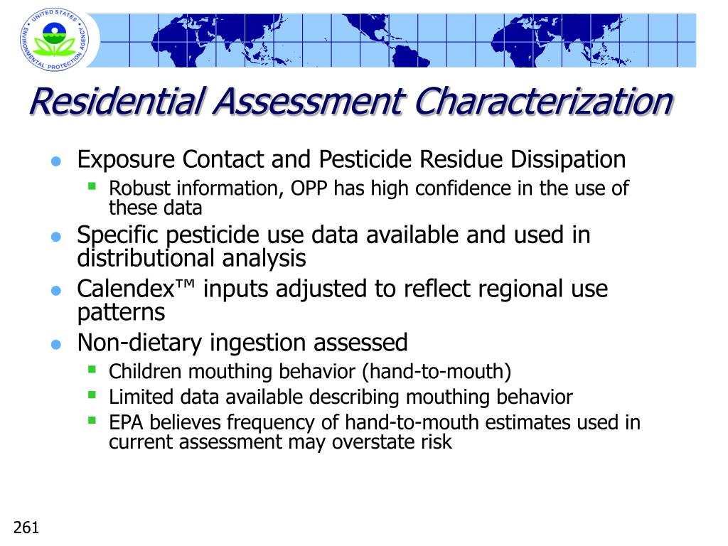 Residential Assessment Characterization