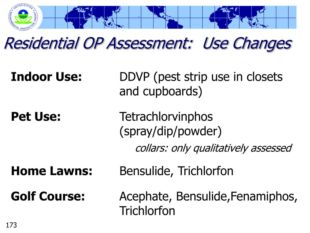 Residential OP Assessment:  Use Changes