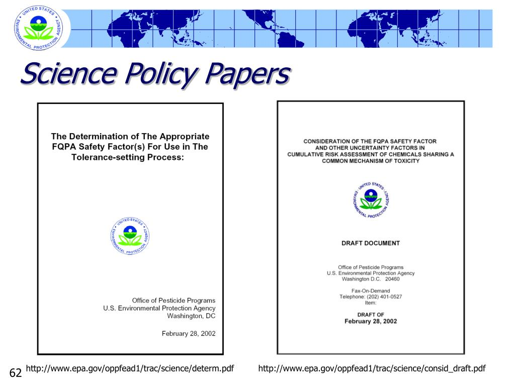 Science Policy Papers