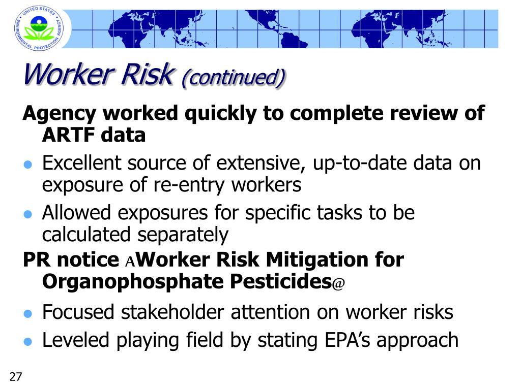 Worker Risk