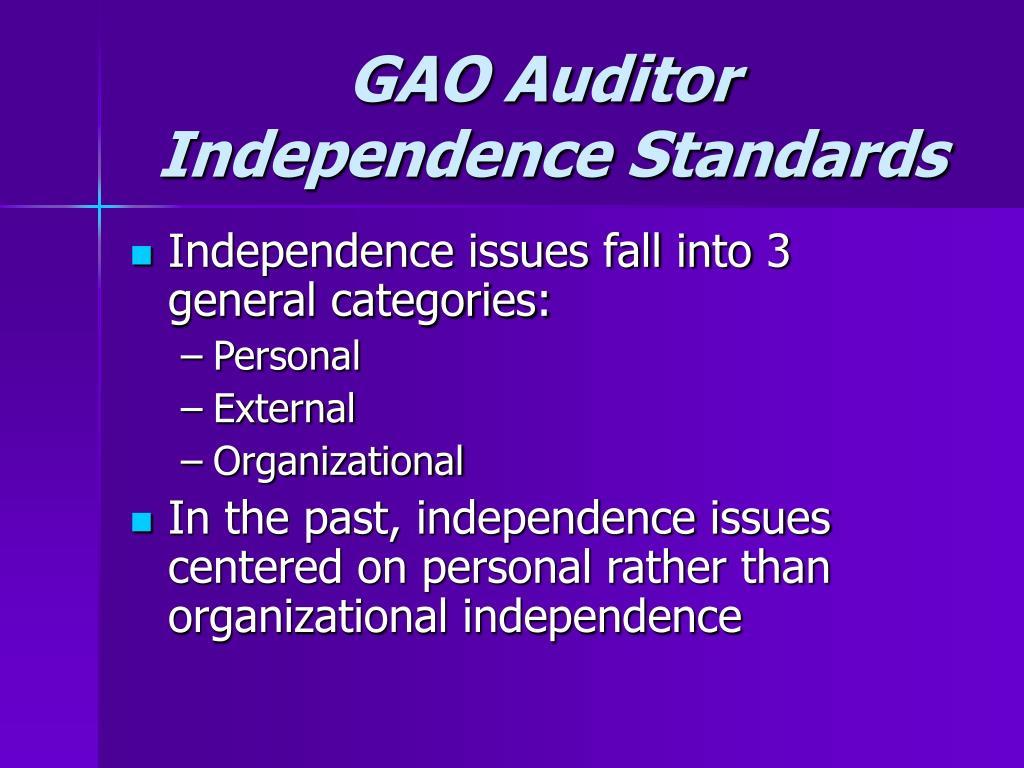 GAO Auditor