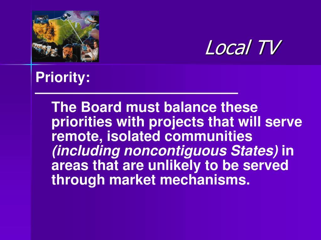 Local TV
