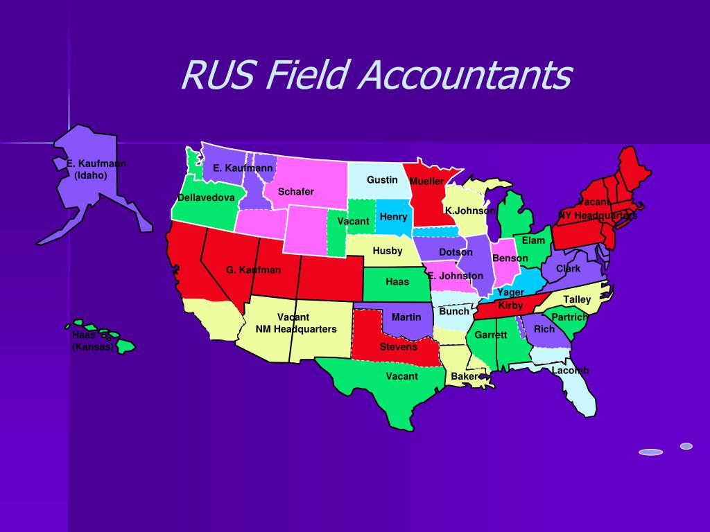 RUS Field Accountants
