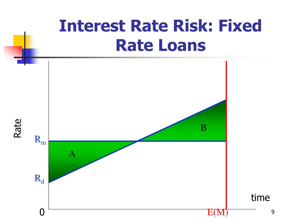 Interest Rate Risk: Fixed Rate Loans