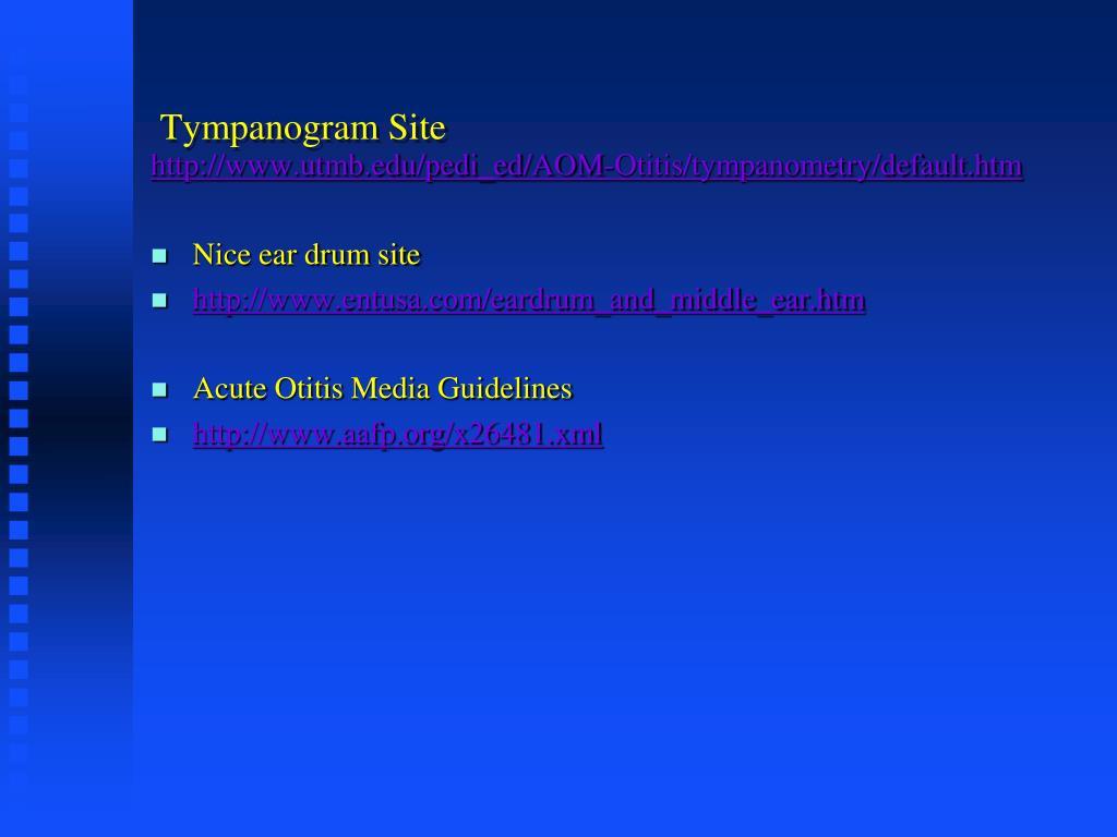 Tympanogram