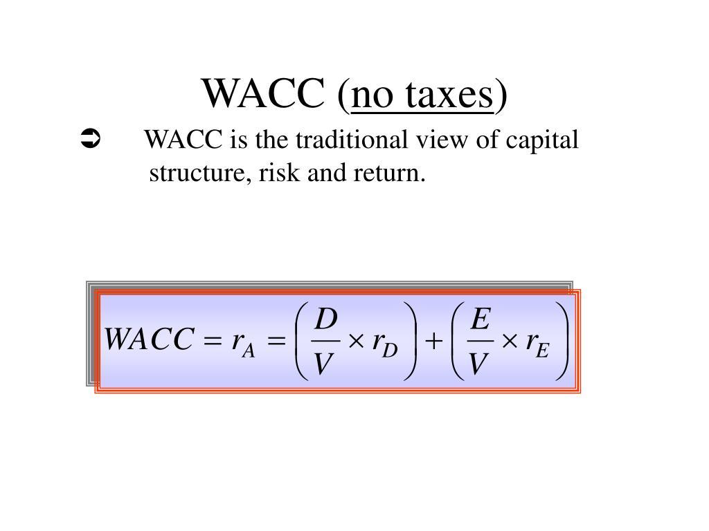 WACC (