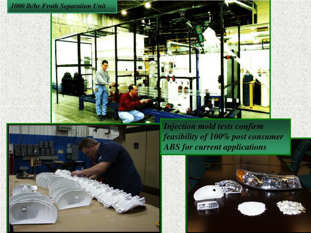 1000 lb/hr Froth Separation Unit