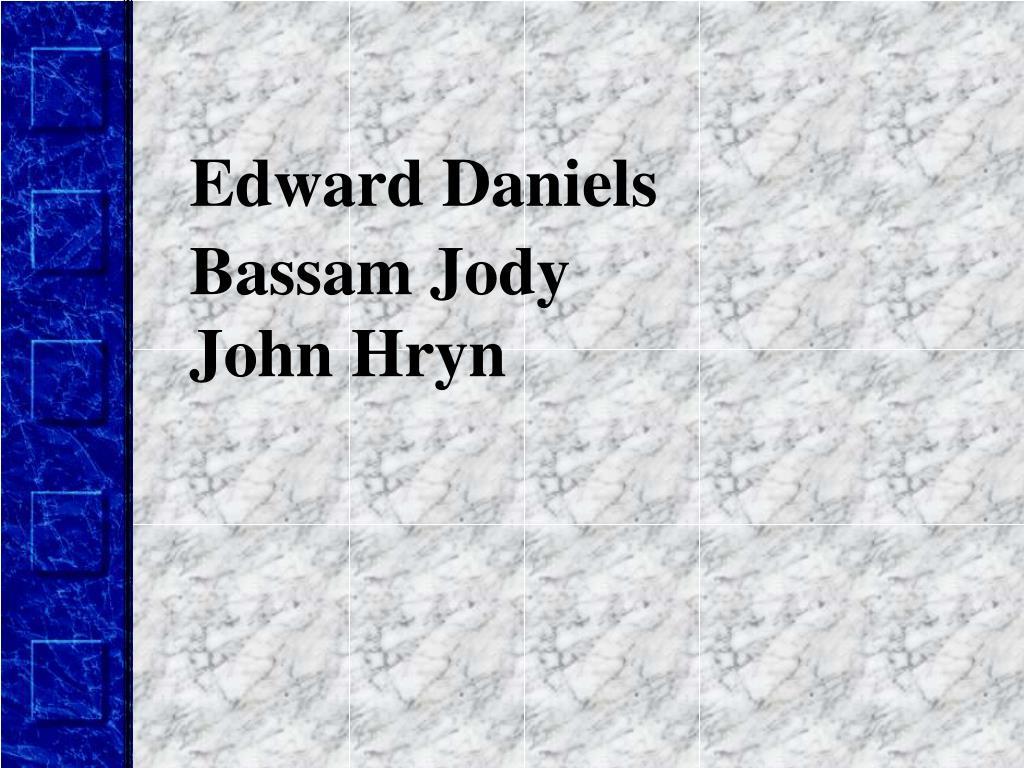 Edward Daniels