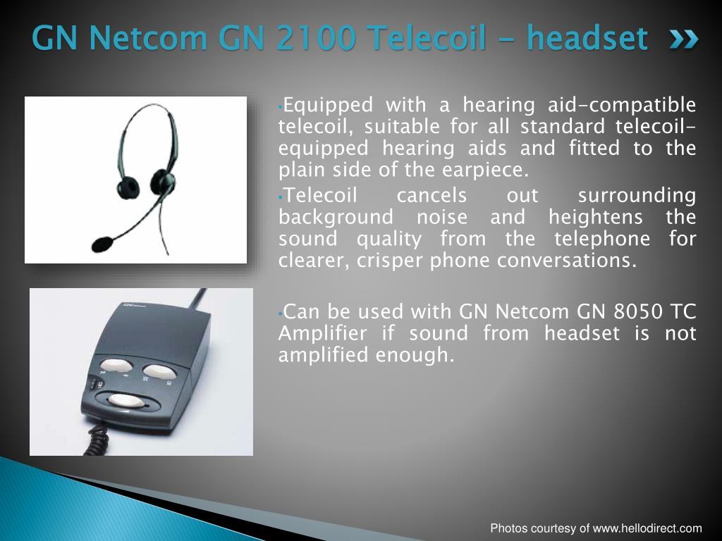 GN Netcom GN 2100 Telecoil - headset