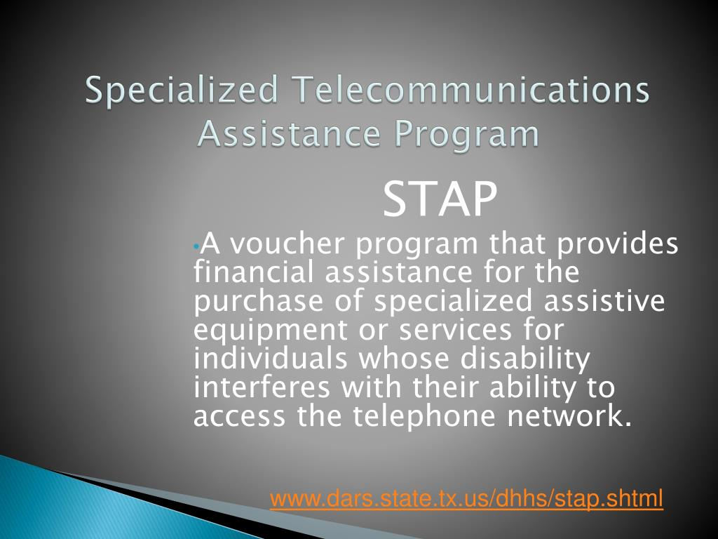 Specialized Telecommunications Assistance Program
