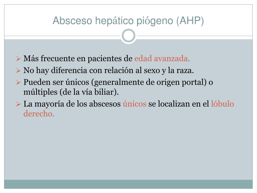 Absceso hep