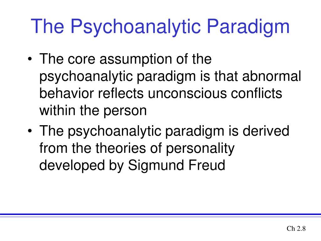 psychoanalysis theory essay