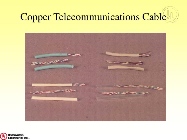 Copper Telecommunications Cable