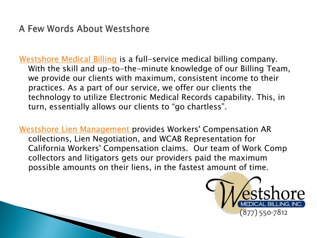 A Few Words About Westshore