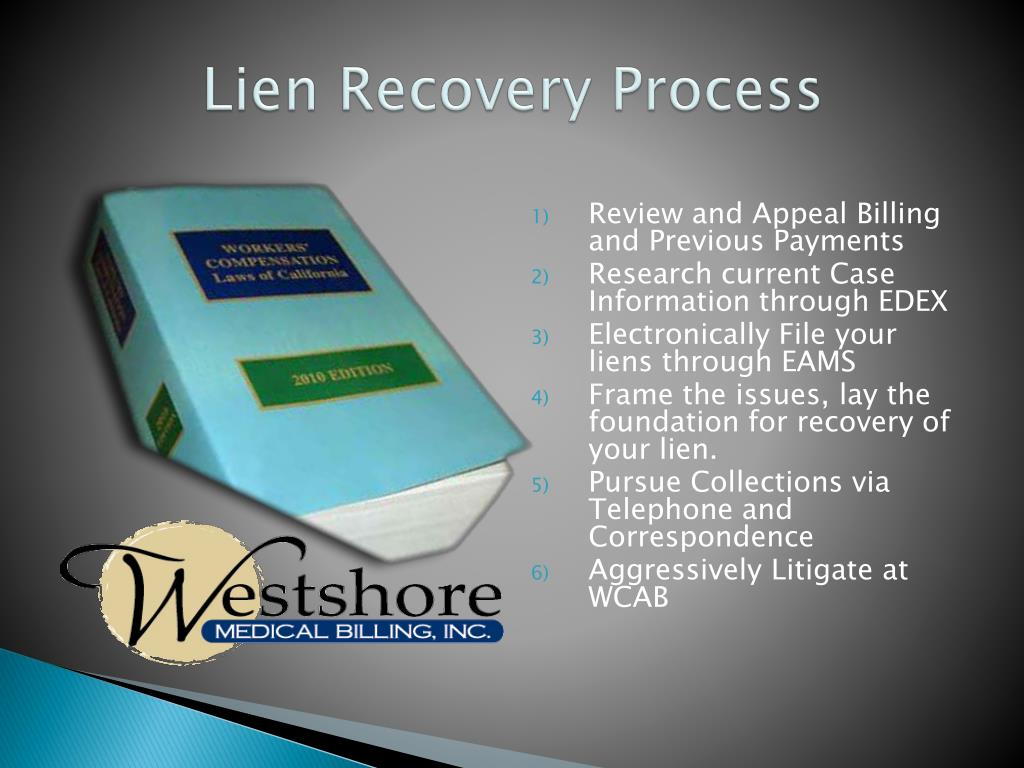 Lien Recovery Process