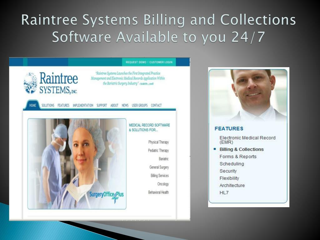Raintree Systems Billing and Collections Software Available to you 24/7