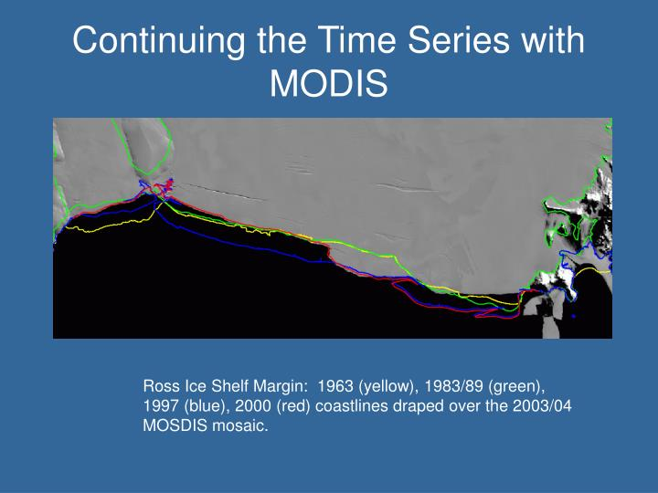 Continuing the Time Series with MODIS