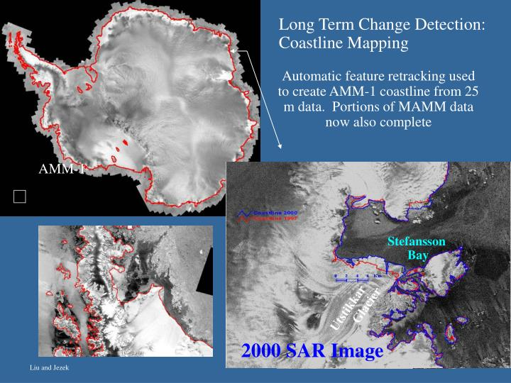 Long Term Change Detection: Coastline Mapping
