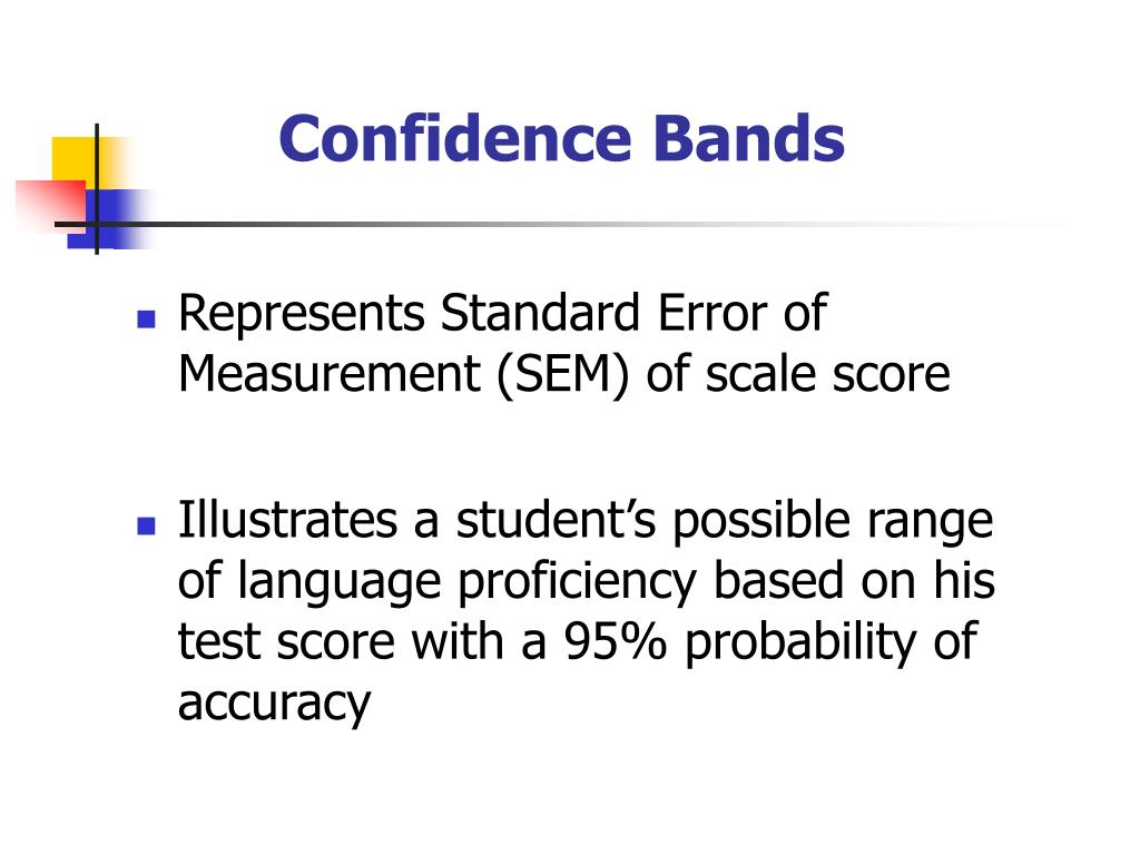 Confidence Bands