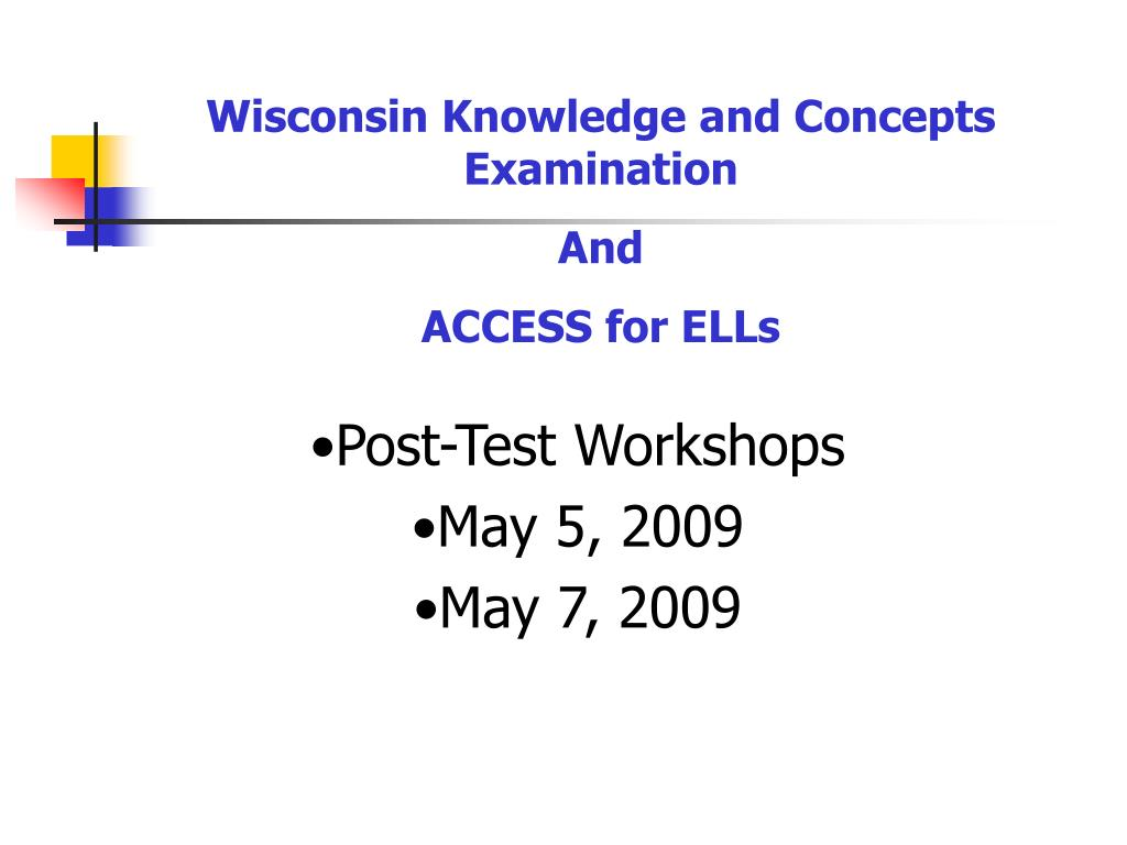 Wisconsin Knowledge and Concepts Examination